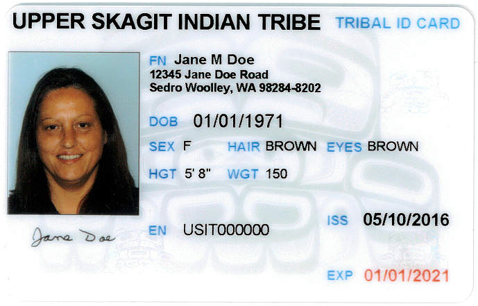 Tribal Id Cards As Identification | Washington State Liquor And